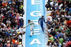 Matt DiBenedetto, BK Racing Toyota and Ricky Stenhouse Jr., Roush Fenway Racing Ford