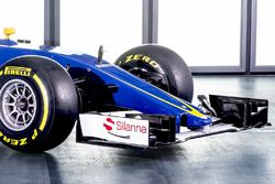 Sauber C35 voorvleugel detail