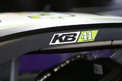 The car of Kurt Busch, Stewart-Haas Racing Chevrolet