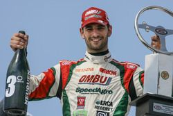 Podium: third place Facundo Ardusso, JP Racing Dodge