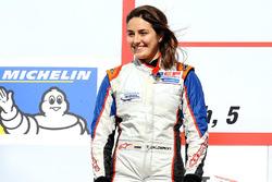 Обладательница второго места Татьяна Кальдерон на подиуме