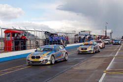 Sam Tordoff, West Surrey Racing; Rob Collard, West Surrey Racing