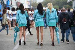 Chicas de Leopard Racing