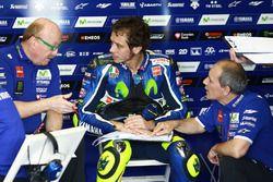 Valentino Rossi, Yamaha Factory Racing avec Silvano Galbusera et Luca Cadalora