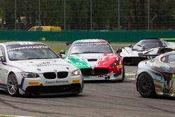 André Grammatico, BMW Espace Bienvenue, BMW M3 GT4; Alessandro Fogliani, Patrick Zamparini, Villorba