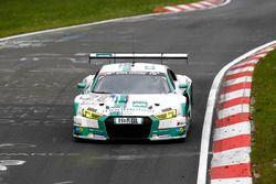 #28 Land Motorsport, Audi R8 LMS: Mike Rockenfeller, Timo Scheider, Marc Basseng, Connor de Phillippi