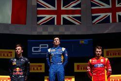 Alex Lynn, DAMS, Pierre Gasly, PREMA Racing and Jordan King, Racing Engineering