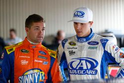 Ricky Stenhouse Jr., Roush Fenway Racing Ford, Trevor Bayne, Roush Fenway Racing Ford