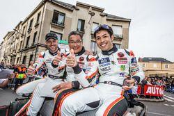 #61 Clearwater Racing Ferrari 458 Italia: Rob Bell, Mok Weng Sun, Keita Sawa