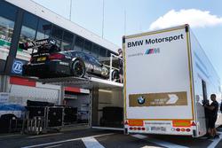 La voiture de Bruno Spengler, BMW Team MTEK, BMW M4 DTM