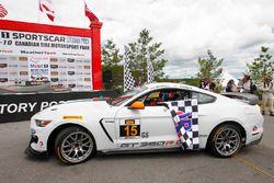 Race winners #15 Multimatic Motorsports Mustang Boss 302R: Billy Johnson, Scott Maxwell