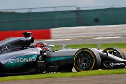 Esteban Ocon, pilote d'essais Mercedes AMG F1 W07 Hybrid