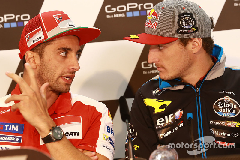 Andrea Iannone, Ducati Team et Jack Miller, Marc VDS Racing Honda
