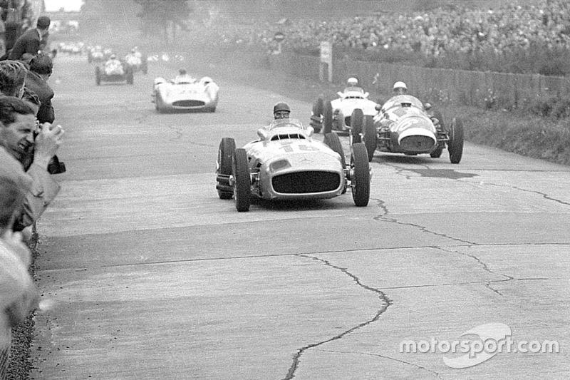 Хуан-Мануэль Фанхио, Mercedes-Benz W196. Гран При Германии 1954 года