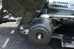Mercedes rear drum cover