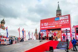 Silk Road Rally, vertrek, Wang Hai