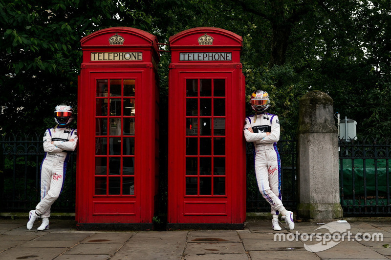 Sam Bird, DS Virgin Racing visita a Marble Arch