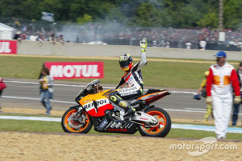 Segundo lugar Valentino Rossi, Repsol Honda Team