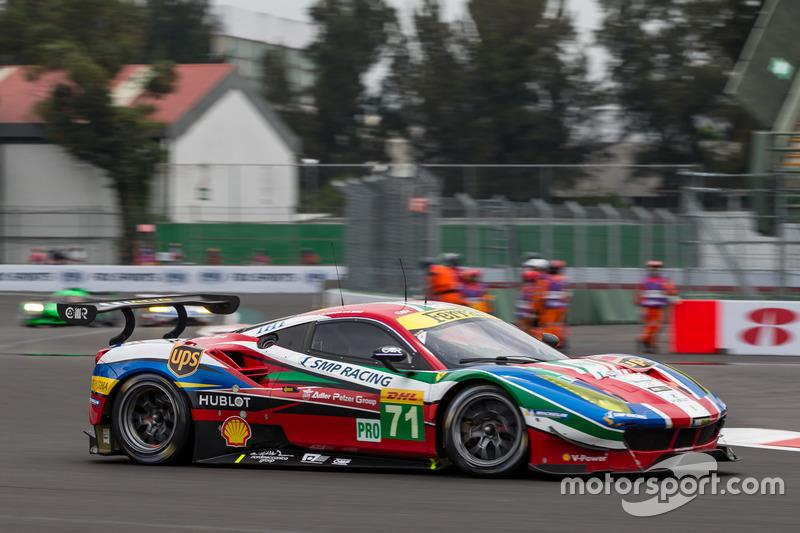 4. GTE-Pro: #71 AF Corse, Ferrari 488 GTE: Davide Rigon, Sam Bird
