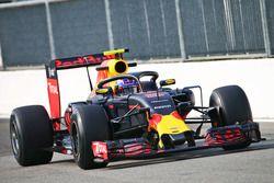 Max Verstappen, Red Bull Racing RB12 avec le Halo