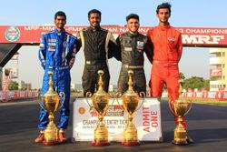 Keith Desouza, Arjun Narendran, Vikash Anand and Raghul Rangasamy
