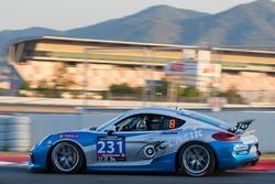 #231 OCC Lasik Racing with Newbridge Motorsport Porsche Cayman GT4 Clubsport: Fareed Ali, Simon Atki