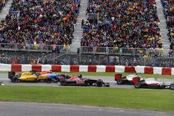 Daniil Kvyat, Scuderia Toro Rosso STR11 au départ