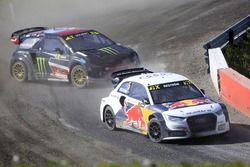 Mattias Ekström, EKS RX; Petter Solberg, Petter Solberg World RX Team