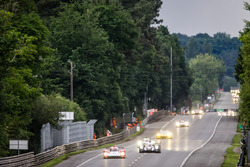Старт квалификации: Тор Грейвс, Мэтт Рао, Роберто Мери, #44 Manor Oreca 05 - Nissan