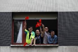 Фанаты из Китая