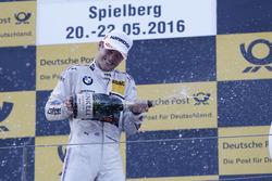 Podium: Tom Blomqvist (GBR) BMW Team RBM, BMW M4 DTM. 21.05.2016, DTM Round 2, Spielberg, Austria,