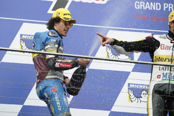 Podium: second place Franco Morbidelli, Marc VDS