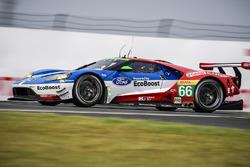 #66 Ford Chip Ganassi Racing Team UK, Ford GT: Olivier Pla, Stefan Mücke