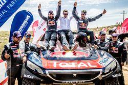 Ganador #104 Peugeot: Cyril Despres, David Castera