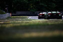 #48 Paul Miller Racing Lamborghini Huracan GT3: Madison Snow, Bryan Sellers and #16 Change Racing La