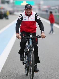 Stephane Sarrazin, Toyota Racing