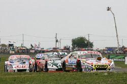 Sergio Alaux, Coiro Dole Racing Chevrolet, Juan Jose Ebarlin, Donto Racing Torino, Camilo Echevarria, CAR Racing Chevrolet
