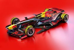 Red Bull Racing, design di fantasia per il 2030