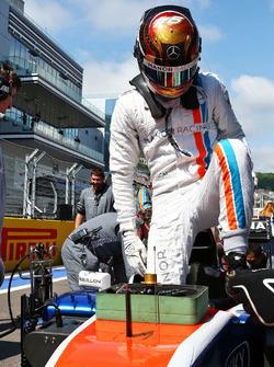 Pascal Wehrlein, Manor Racing MRT05 sur la grille