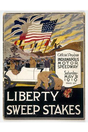 Programmheft zum Indy 500 1919