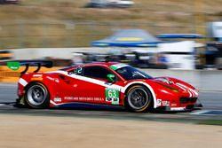 #63 Scuderia Corsa Ferrari 488 GT3 : Christina Nielsen, Alessandro Balzan