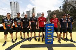 Ankunft der Enduro-Cup-Fahrer mit den Champions Garth Tander und Warren Luff, den Führenden von 2016