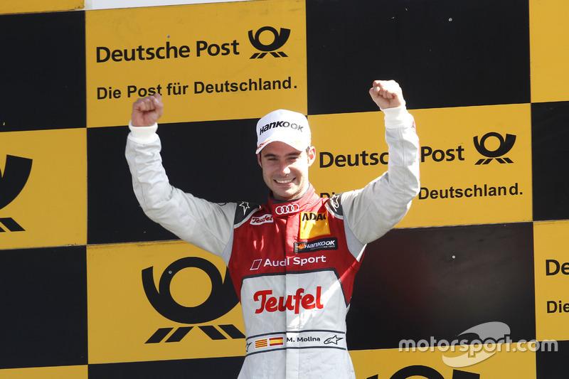 Lausitz (Carrera 1): Miguel Molina, Audi Sport Team Abt Sportsline, Audi RS 5 DTM