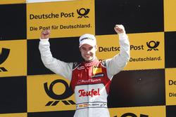 Podium: Race winner Miguel Molina, Audi Sport Team Abt Sportsline, Audi RS 5 DTM