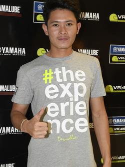 Apiwat Wongthananon, participant au Yamaha VR46 Master Camp