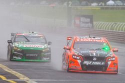 Garth Tander and Warren Luff, Holden Racing Team, Cameron Waters and Jack Le Brocq, Prodrive Racing Australia