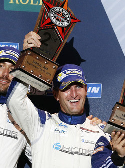 LM GTE Am Podium: tweede Christian Ried, KCMG