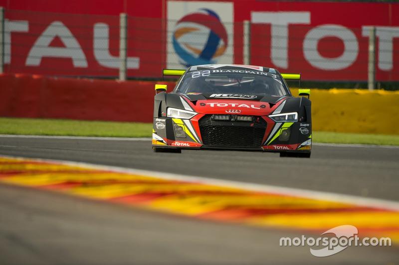 12. #3 Belgian Audi Club Team WRT, Audi R8 LMS