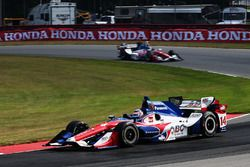 Takuma Sato, A.J. Foyt Enterprises Honda, Jack Hawksworth, A.J. Foyt Enterprises Honda