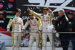 Podio: i vincitori #99 Rowe Racing, BMW M6 GT3: Maxime Martin, Philipp Eng, Alexander Sims